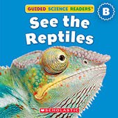 Book cover: See the Reptiles