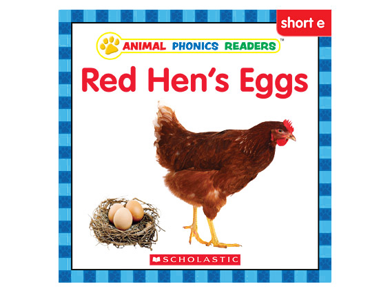 book cover: Red Hen's Eggs