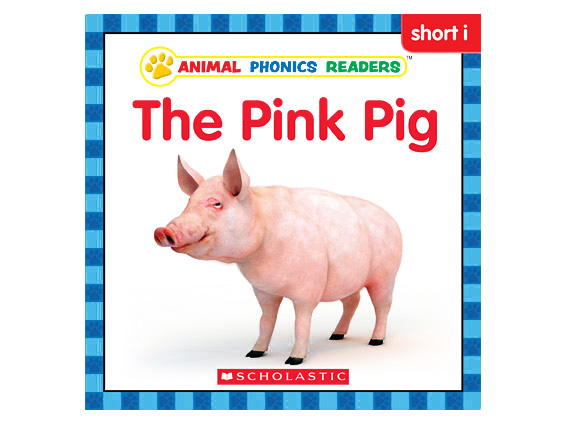 book cover: The Pink Pig