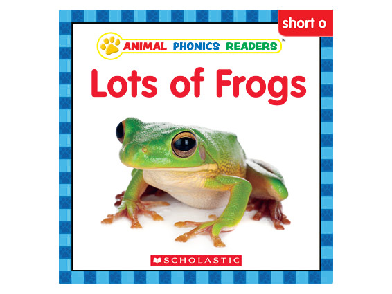 book cover: Lots of Frogs