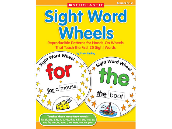 book cover: Sight Word Wheels