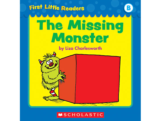 book cover: The Missing Monster