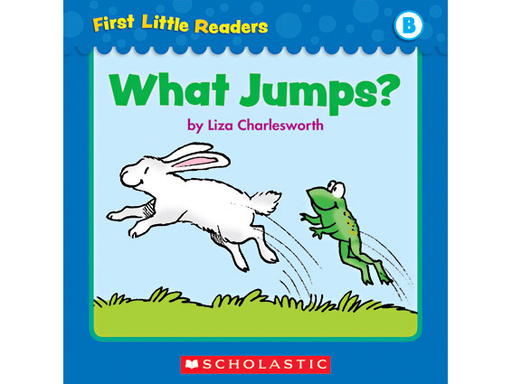 book cover: What Jumps?