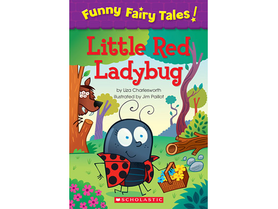 book cover: The Little Red Ladybug
