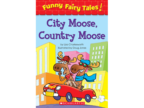 book cover: City Moose, Country Moose
