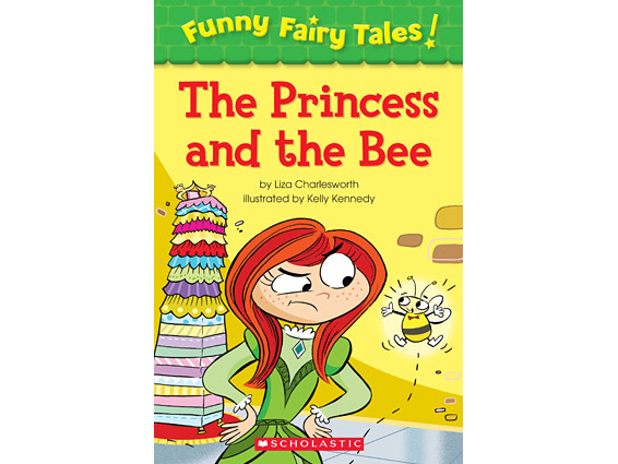 book cover: The Princess and the Bee