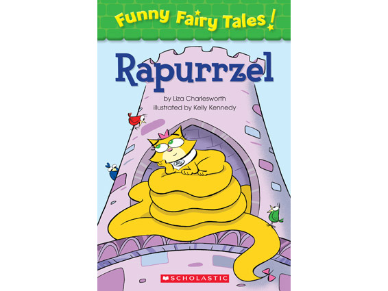 book cover: Rapurrzel