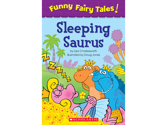 book cover: Sleeping Saurus