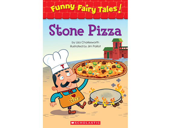 book cover: Stone Pizza