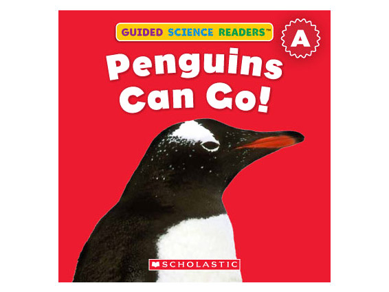 book cover: Penguins Can Go!