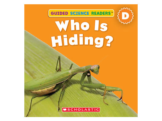 book cover: Who Is Hiding?