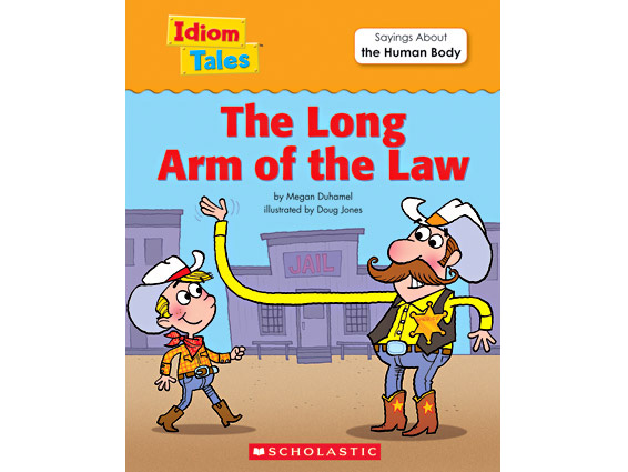 book cover: The Long Arm of the Law