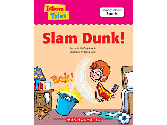 book cover: Slam Dunk!