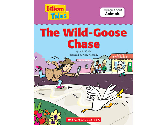 book cover: The Wild-Goose Chase