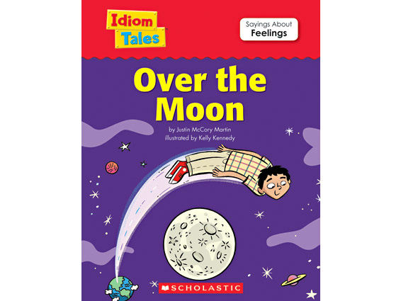 book cover: Over the Moon