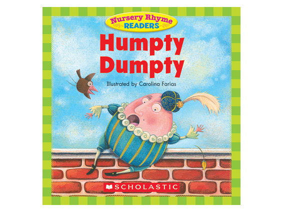 book cover: Humpty Dumpty