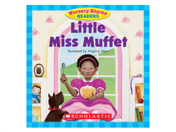 book cover: Little Miss Muffet