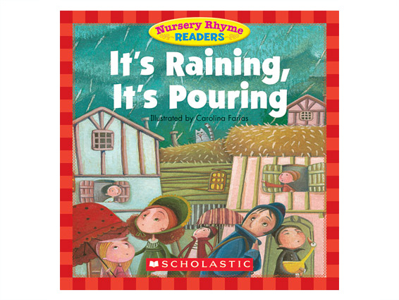 book cover: It's Raining, It's Pouring