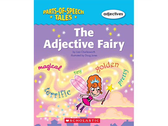 book cover: The Adjective Fairy