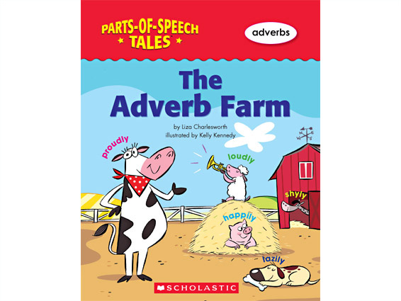 book cover: The Adverb Farm
