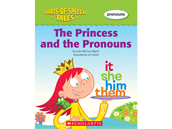 book cover: The Princess and the Pronouns