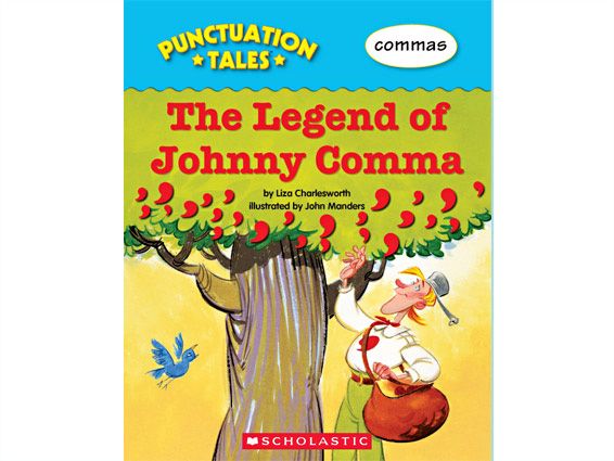 book cover: The Legend of Johnny Comma