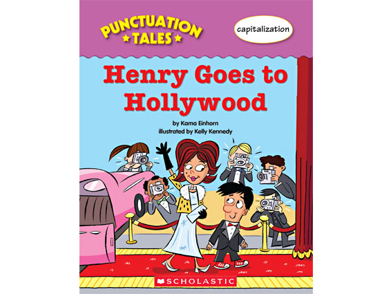 book cover: Henry Goes to Hollywood