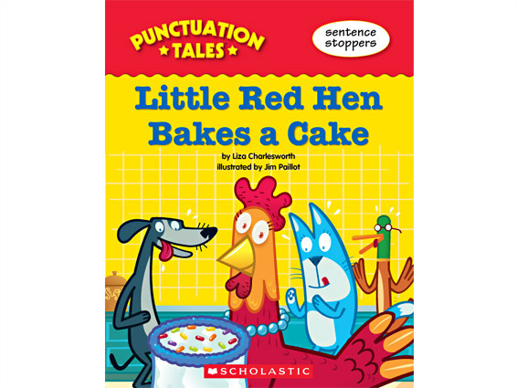 book cover: Little Red Hen Bakes a Cake