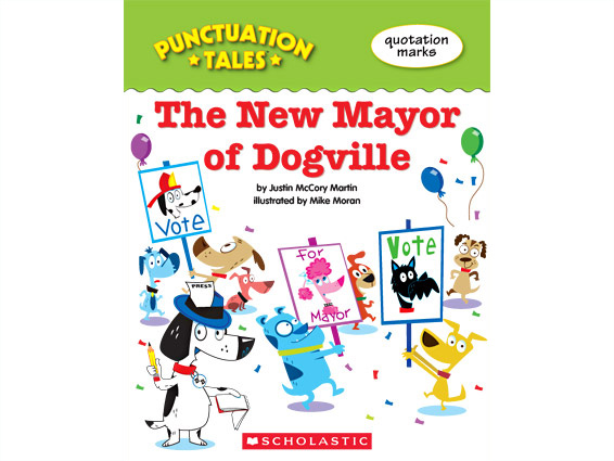 book cover: The New Mayor of Dogville