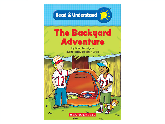 book cover: The Backyard Adventure