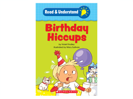 book cover: Birthday Hiccups