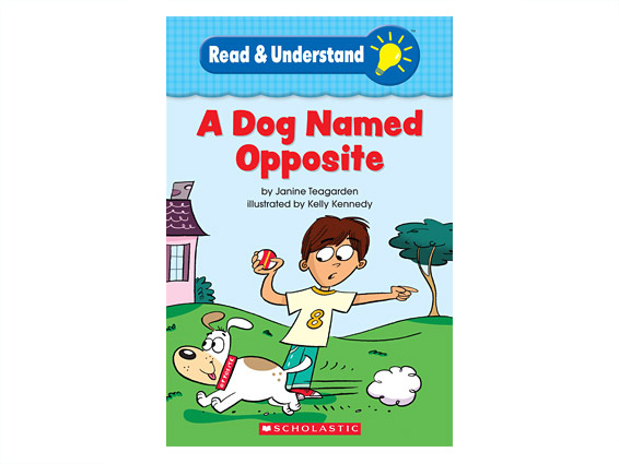 book cover: A Dog Named Opposite