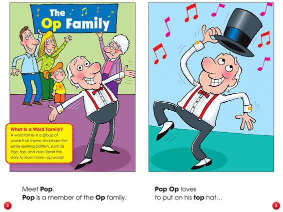 inner spread: Pop Does the Bop