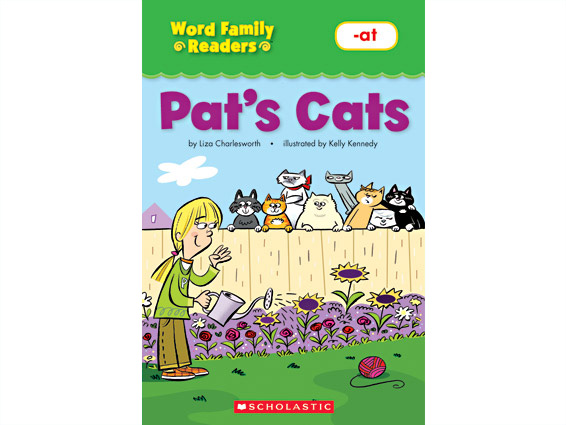 Book cover: Pat's Cats